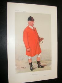 Vanity Fair Print 1906 Albert Brassey, Fox Hunter